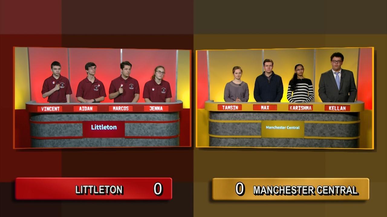Semifinal 1 - Littleton Vs Manchester Central