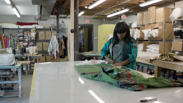 Broad and High: Fashion Designer Esther Sands