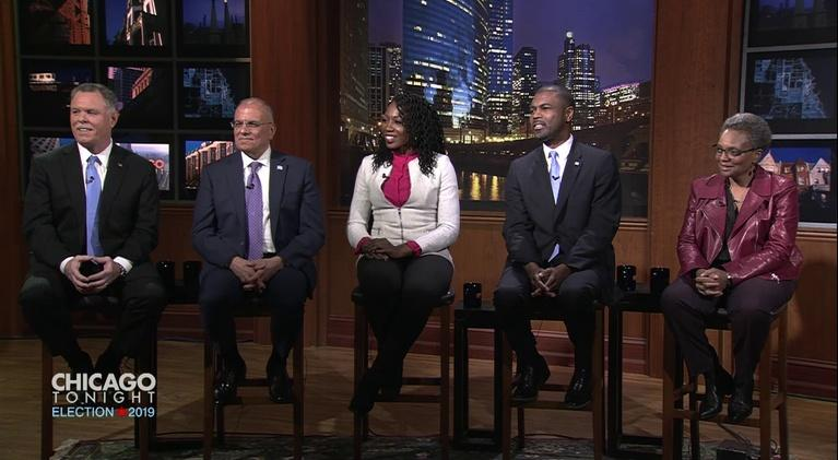 Chicago Tonight: Feb. 19, 2019 - Mayoral Candidate Forum