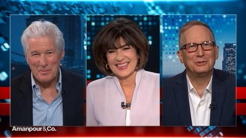 Amanpour and Company -- Richard & David Gere on Their HIV/AIDS Activism