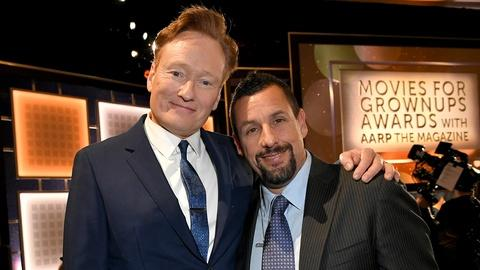 Conan O'Brien Roasts Adam Sandler