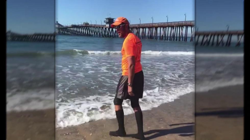 Wilmette Man Finishes Walk Across US for Parkinson's Disease image