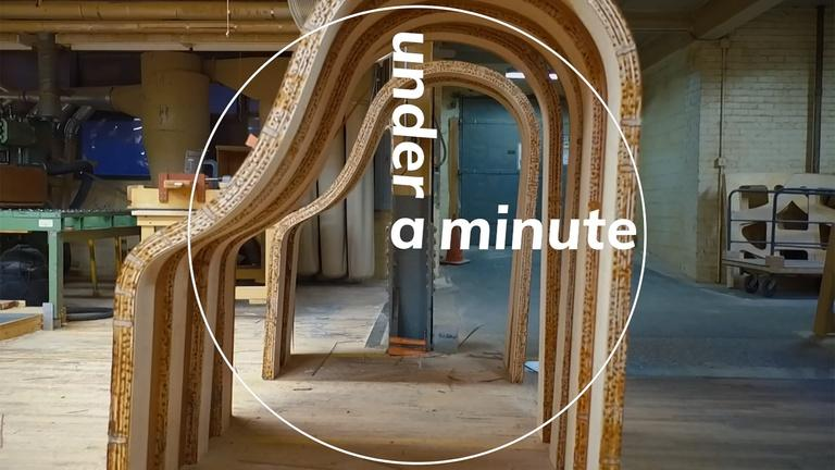 Under a Minute: The Steinway Piano Factory (min. 18)