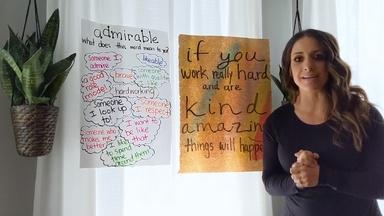 Amazingly Admirable - Andreia Onofre Smith - Third Grade