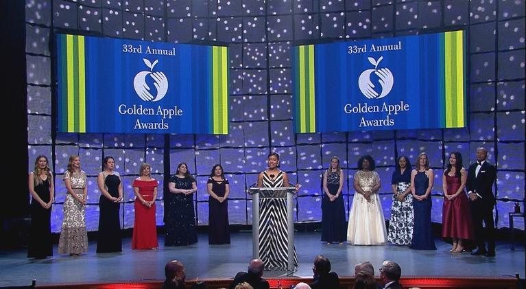 Golden Apple Awards for Excellence in Teaching & Leadership: Golden Apple Awards 2018