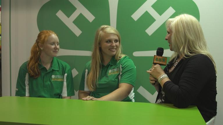 Minnesota 4-H: Growing True Leaders: Alicia & Maggie