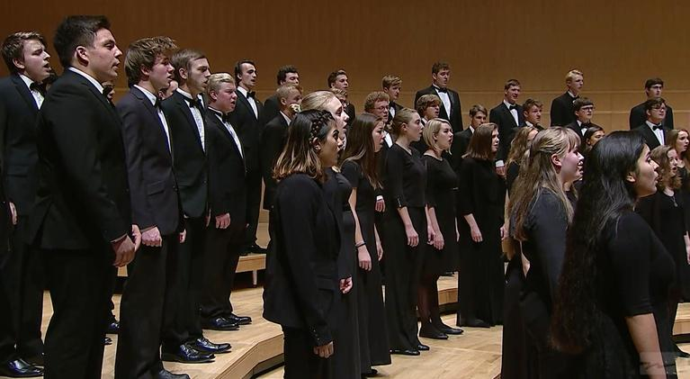 WPT Music & Arts: 2018 WSMA State Honors Concert: Mixed Choir