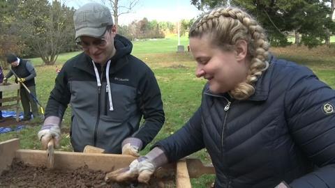 Excavating history underneath Princeton Battlefield