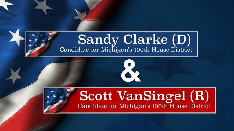 Meet the Candidates on CMU Public Television: Meet the Candidates Clark (D-100) and VanSingel (R-100)