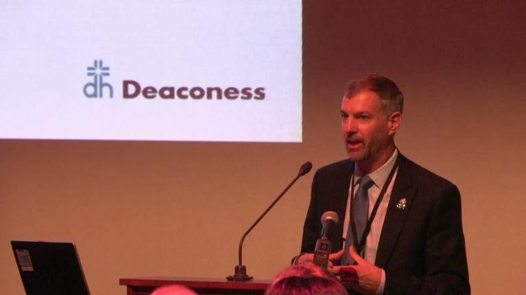 Evansville Rotary Club: Regional Voices: Shawn McCoy, CEO Deaconess Health Systems