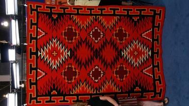 Appraisal: Navajo Germantown Weaving, ca.1890