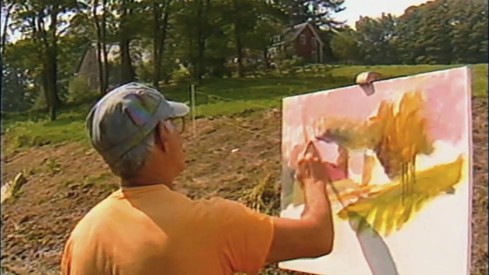 Made Here Wolf Kahn Landscape Painter And Wolf Kahn At Niagara Falls Season 7 Episode 21 Pbs Nc