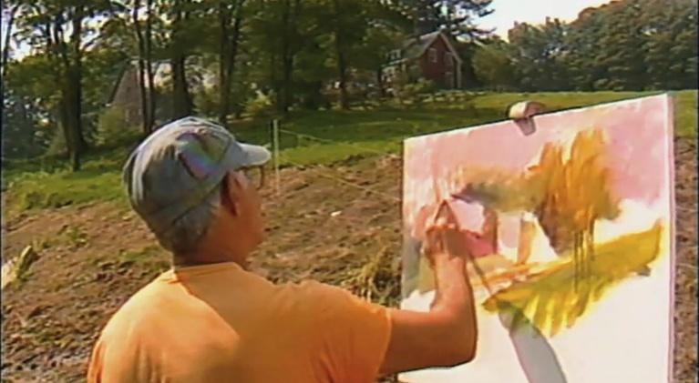 Made Here: PREVIEW: Wolf Kahn Landscape Painter