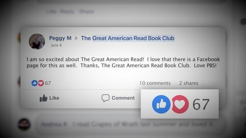 The Great American Read -- The Great American Read Book Club