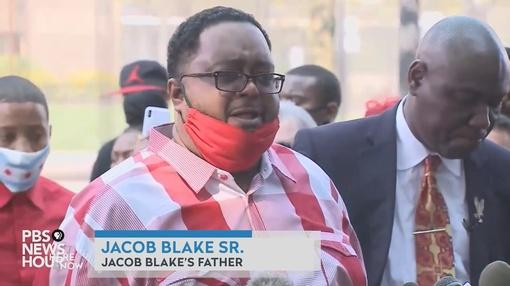 Here and Now : Kenosha Residents Protest for Jacob Blake