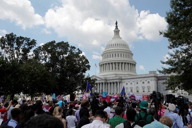Why the Senate health care bill has a vote problem
