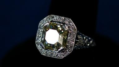 Appraisal: English Giardinetti Diamond Ring, ca. 1780