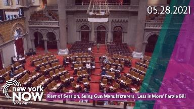 Rest of Session, Suing Gun Manufacturers, Parole Bill