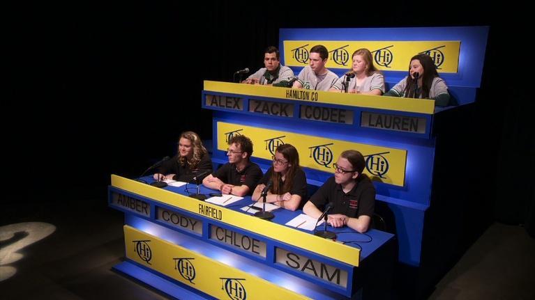 Scholastic Hi-Q: Hamilton County vs. Fairfield 2725