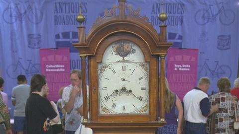 Antiques Roadshow -- S21 Ep19: Appraisal: New England Tall Case Clock, ca. 1820