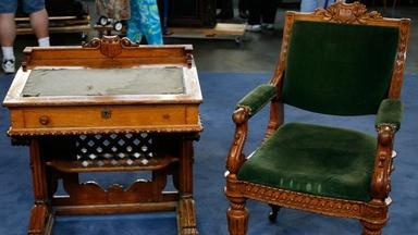 Appraisal: Congressional Desk and Chair, ca. 1857