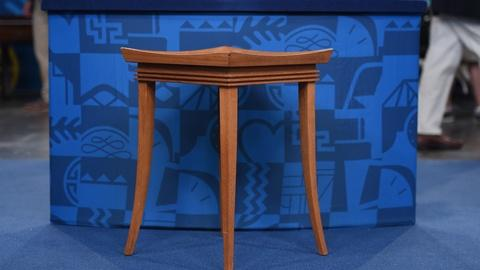 Antiques Roadshow -- S21 Ep16: Appraisal: Bleached Mahogany Tables, ca. 1951