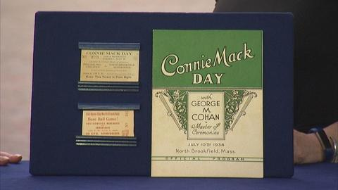 Antiques Roadshow -- Appraisal: 1934 Signed Connie Mac Day Program & Tickets