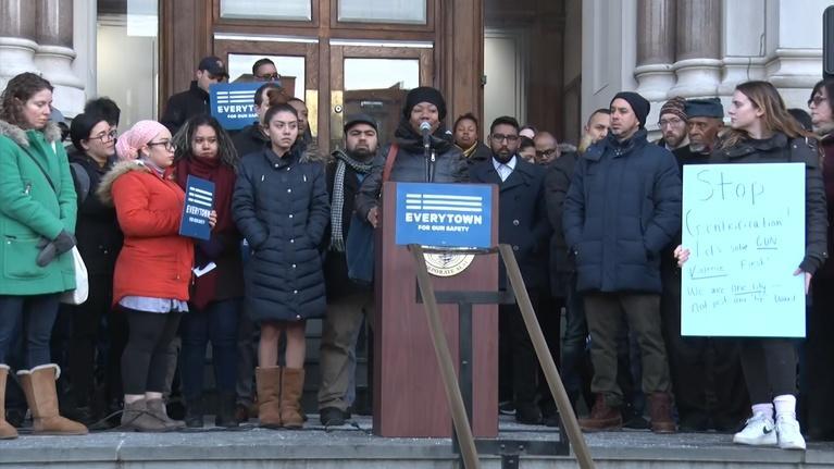 NJTV News: Student protesters speak out against gun violence