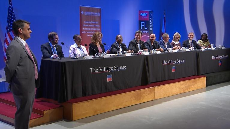WFSU Documentary & Public Affairs: Village Square: Tallahassee Town Hall 2019 Q & A