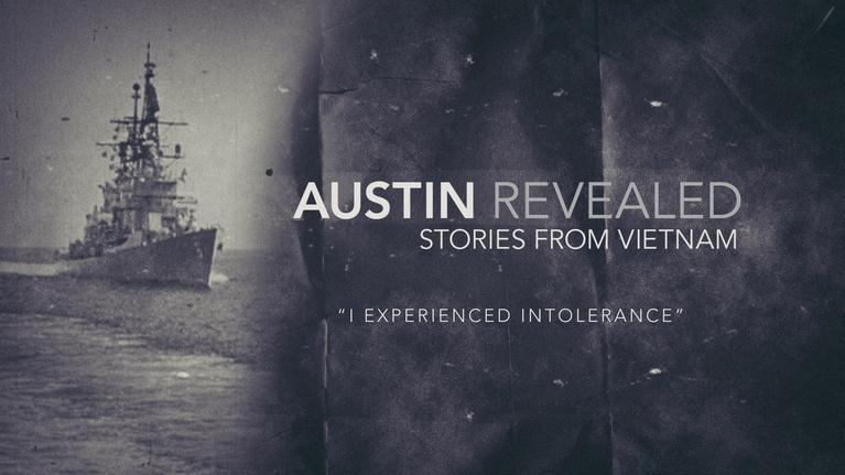 Austin Revealed: I Experienced Intolerance