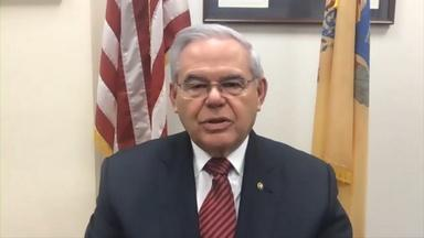 Menendez 'fearful' of what Trump is capable of doing