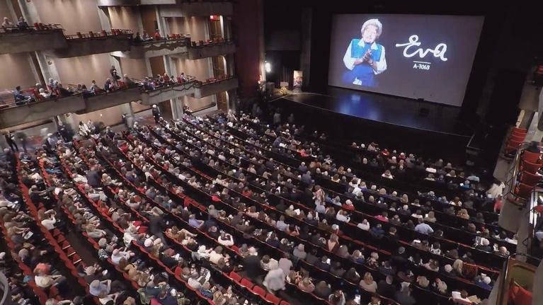 Eva A-7063: Scenes from the Premiere