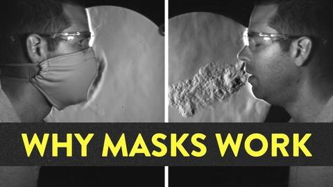 It's Okay to Be Smart -- How Well Do Masks Work?