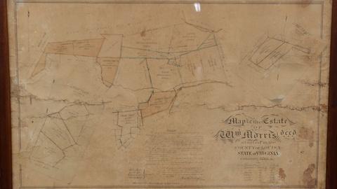 Antiques Roadshow -- S21 Ep14: Appraisal: 1865 Virginia Property Manuscript Map