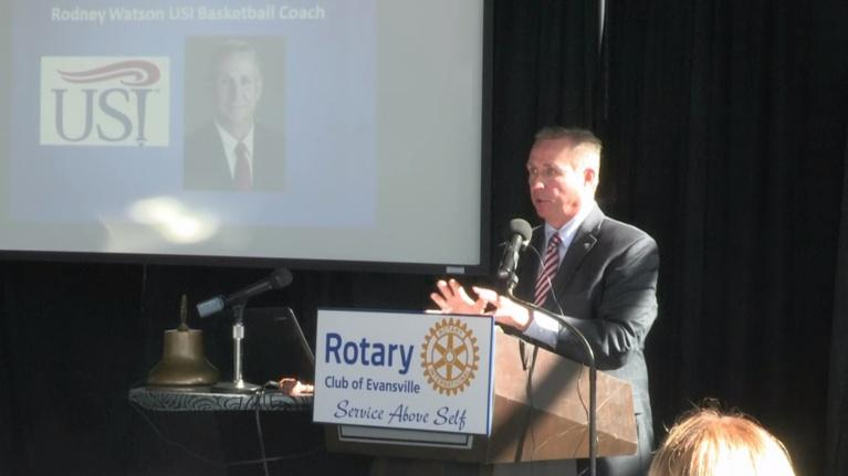 Evansville Rotary Club: Regional Voices: Rodney Watson, USI Mens Basketball