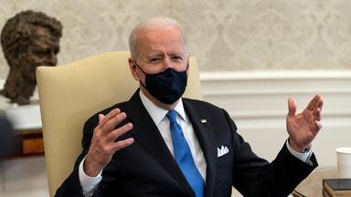 News Wrap: Biden denounces loosening of COVID restrictions