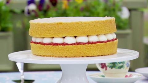 The Great British Baking Show -- Mary's Victoria Sandwich