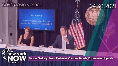 Census Shakeup, Marc Molinaro, Cuomo's Travels, Enviro Updat