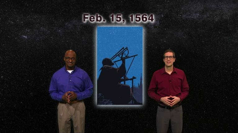 "Star Gazers: ""Happy Birthday Galileo"" February 11 - Feb 17th 1 Minute"