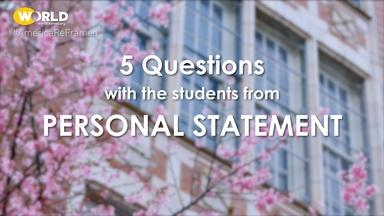 Personal Statement | 5 Questions with Enoch & Karoline