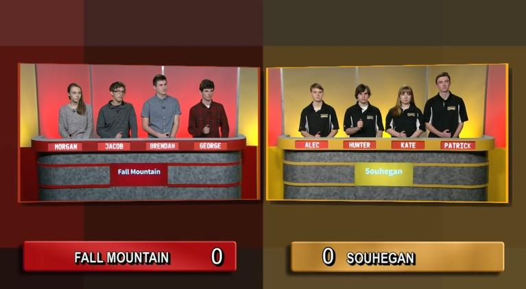 Granite State Challenge: Fall Mountain Vs. Souhegan