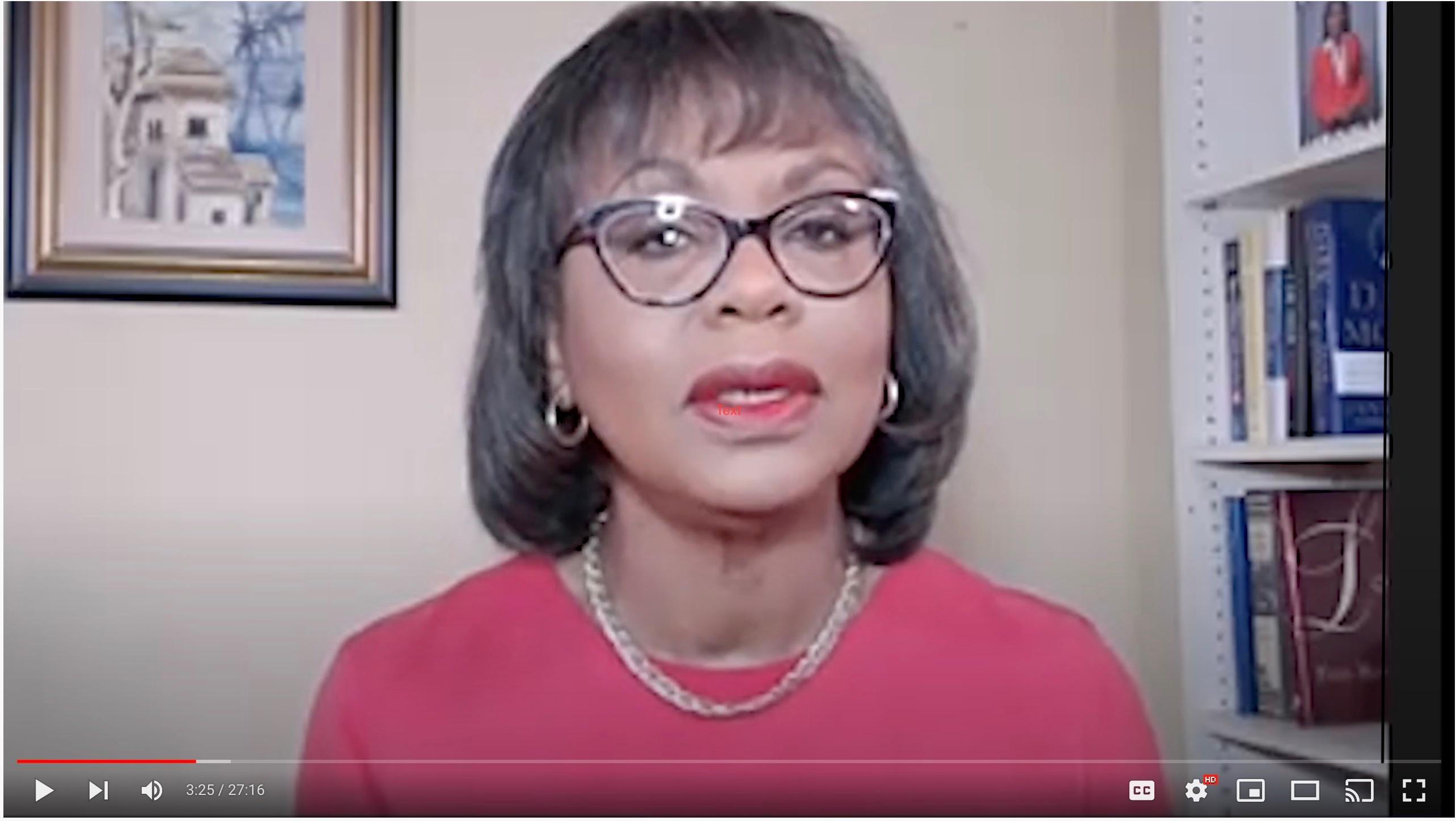 Anita Hill:Woman Thought Leader