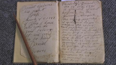 Antiques Roadshow -- S21 Ep19: Appraisal: Canteen & Revolutionary War Diary