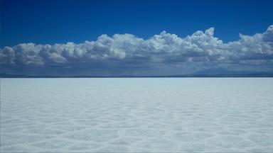 Salt Flat Landscape Creates the World's Largest Mirror