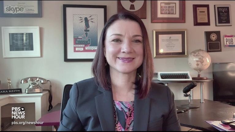 PBS NewsHour: Tamara Keith and Amy Walter on Trump and COVID-19