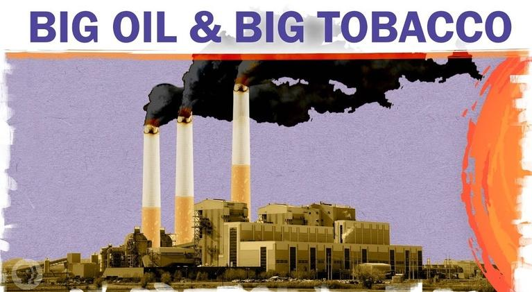 Hot Mess: Will Big Oil Have To Pay Up Like Big Tobacco?