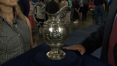 Antiques Roadshow -- S21 Ep13: Appraisal: John Forbes Silver Presentation Pitcher