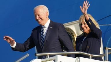 Biden makes first overseas trip to Europe as president