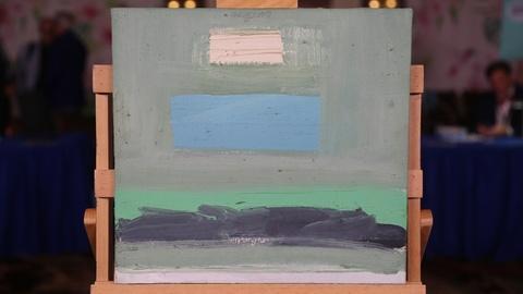 "Antiques Roadshow -- Appraisal: 1962 Baldessari ""Sign for Rothko & Albers"" Oil"
