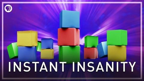 Infinite Series -- Instant Insanity Puzzle